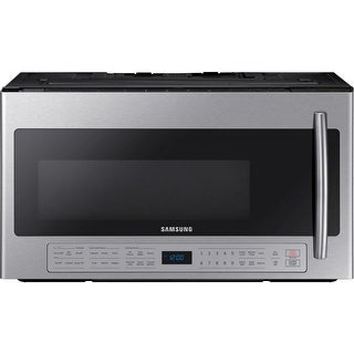 Samsung ME21K6000A 30 Inch Wide 2.1 Cu. Ft. 1000 Watt Over the Range Microwave with 400 CFM Blower