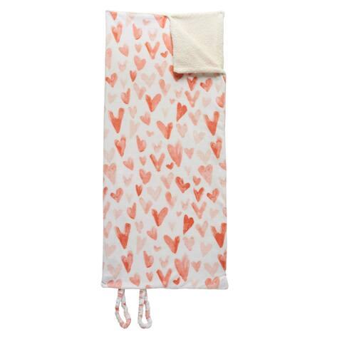 Ivory Ella Cassie Snuggle Soft Plush Blanket Sleeping Bag