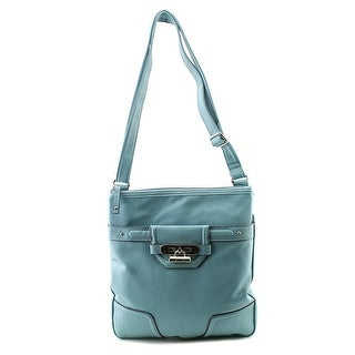 Rosetti Finders Keepers Double Handle Women PVC Shoulder Bag - Blue