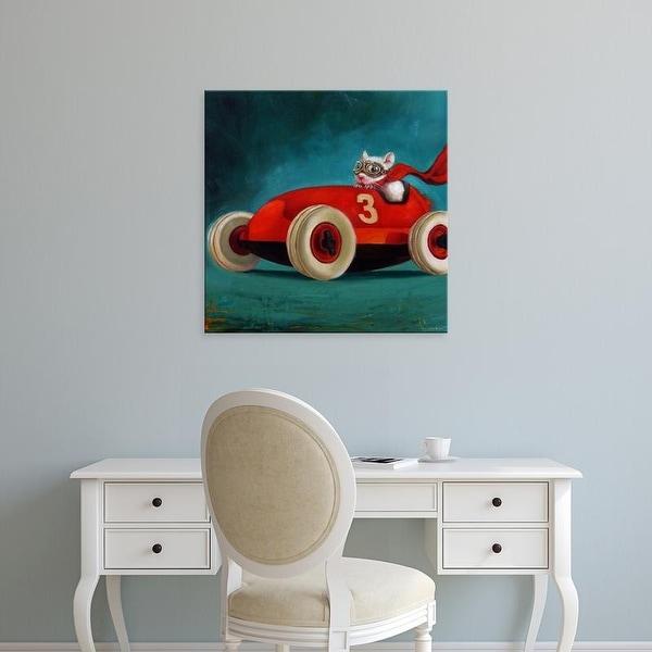 Easy Art Prints Lucia Heffernan's 'Speed Racer' Premium Canvas Art