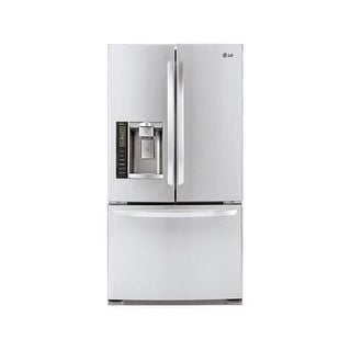 LG LFX21976ST 20 Cubic Foot Large Capacity 3 Door French Door Refrigerator with