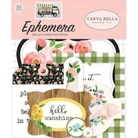 Icons - Spring Market Ephemera Cardstock Die-Cuts 33/Pkg