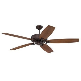 "Ellington Fans Patterson 64"" 5 Blade Indoor Ceiling Fan - Blades Included"