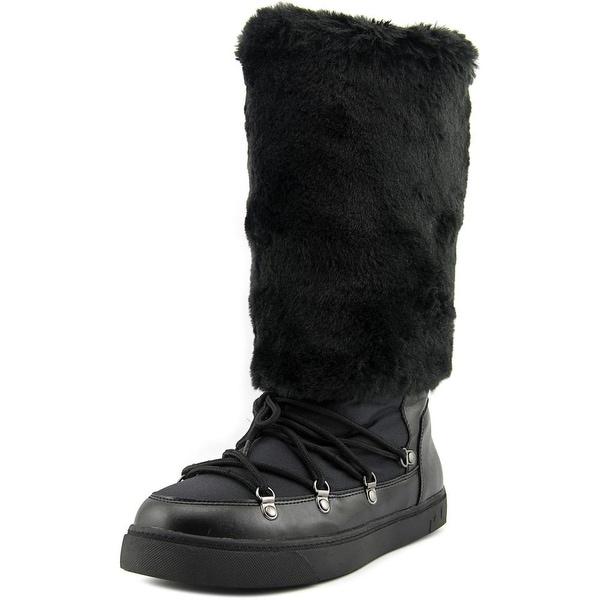 INC International Concepts Soffy Women Black Snow Boots