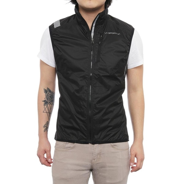 La Sportiva Men Hustle Vest Vest Black/Grey