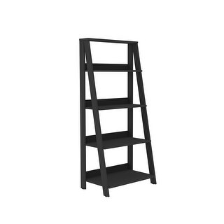 "Delacora WE-BDS55LD  Jett 24"" Wide Four Shelf Wood Utility Shelf"