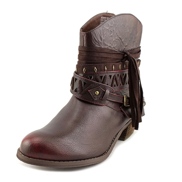 Not Rated Naoni Women Round Toe Synthetic Ankle Boot