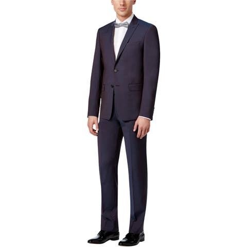 Calvin Klein Mens Extra Two Button Suit