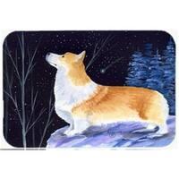 Starry Night Corgi Mouse Pad