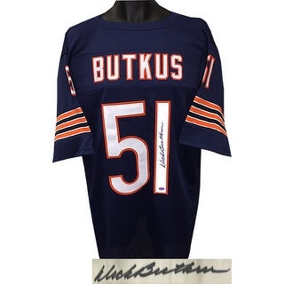 2ef57268e Shop Dick Butkus signed Navy Throwback Custom Stitched Pro Style Football  Jersey XL Mounted Memories Hol - Free Shipping Today - Overstock.com -  19871926