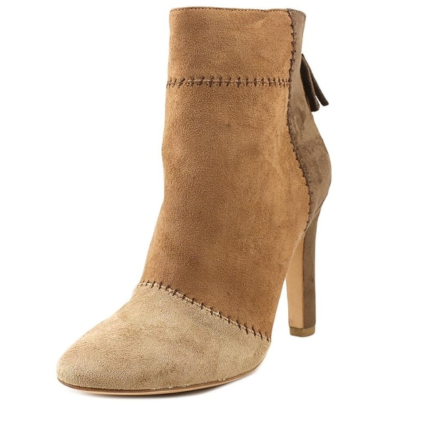 Joie Briona Women Round Toe Suede Brown Ankle Boot