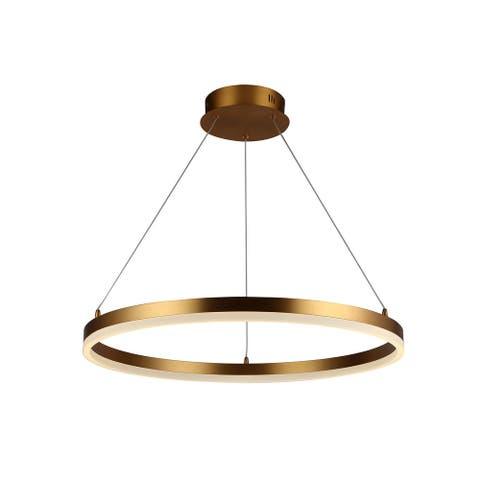Avenue Lighting HF5027GL LED Pendant Circa Gold - One Size
