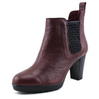 Bella Vita Zana Women WW Round Toe Leather Boot