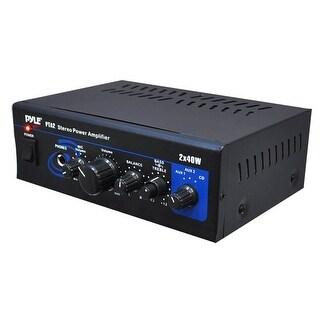 Mini 2X40W Stereo Power Amplifier