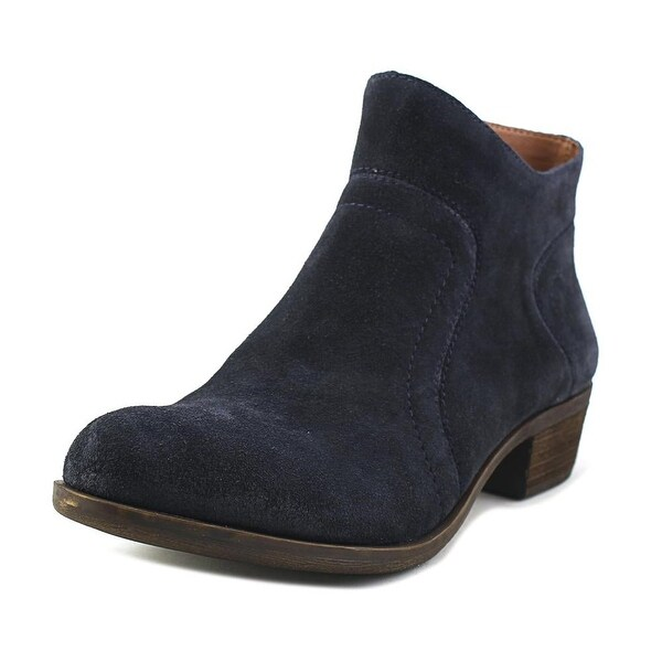 Lucky Brand Brolley Women Round Toe Suede Ankle Boot