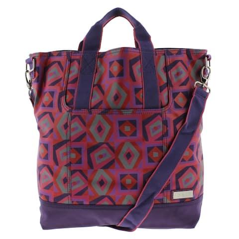 Hadaki Womens French Market Tote Handbag Convertible - Large