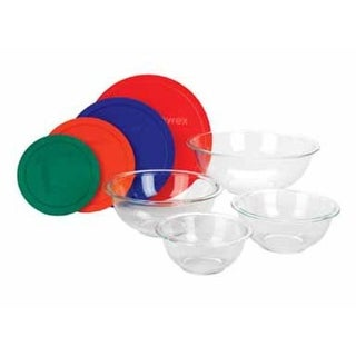 Pyrex 1086053 Smart Essentials Bowl Set 8 Piece