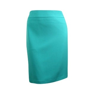 Kasper Women's Crepe Pencil Skirt
