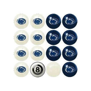NCAA Penn State Billiard Balls Complete Set of 16 Balls