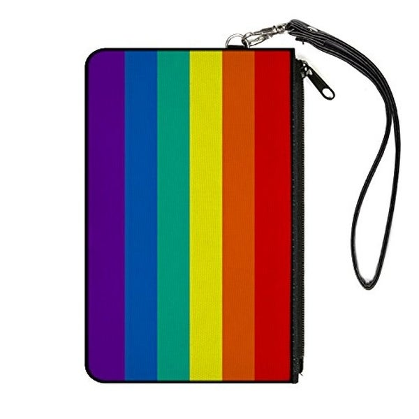 Buckle-Down Zip Wallet Rainbows Large