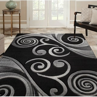 Link to Orelsi Collection Abstract Area Rug Similar Items in Rugs