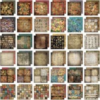 "Lost & Found - Idea-Ology Paper Stash Paper Pad 12""X12"" 36/Pkg"