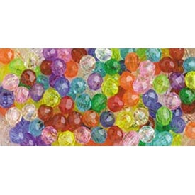 Multicolor - Faceted Beads 8mm 900/Pkg