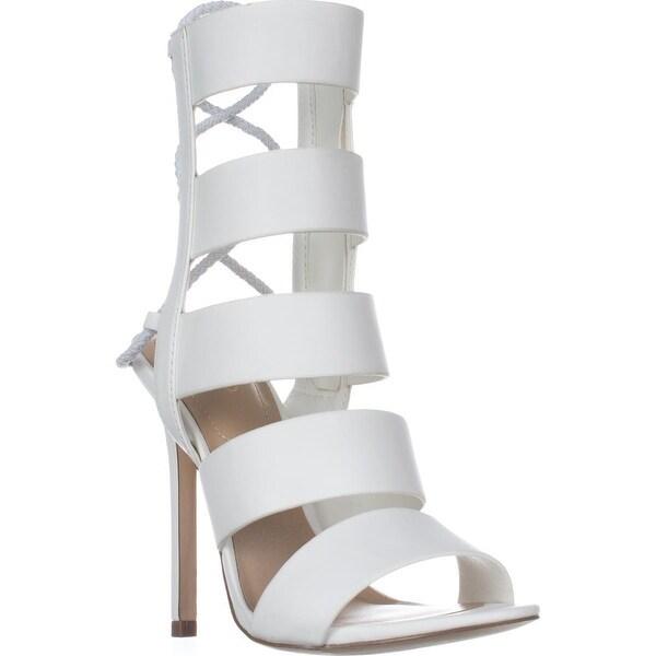 Aldo Hawaii High Rise Gladiator Sandals, White
