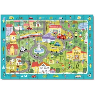 Link to DODO City Life Puzzle  - 80 pieces Similar Items in Toy Vehicles