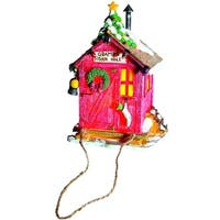 """Pack of 2 Gramps Fishin Hole Lighted Cottage Christmas Ornaments 6"""""""