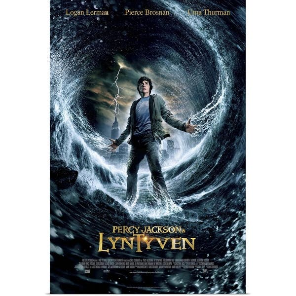 Shop Black Friday Deals On Percy Jackson The Olympians The Lightning Thief 2010 Poster Print Overstock 24135944