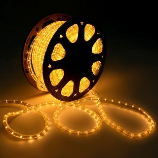 Costway 150' LED Rope Light 2 Wire Christmas Decorative Party In/Outdoor 110V