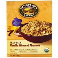 Nature's Path Organic Flax Plus Vanilla Almond Granola - Case of 12 - 11.5 oz.