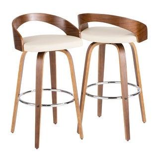 Link to Carson Carrington Stavanger Mid-century Modern Bar Stool (Set of 2) Similar Items in Dining Room & Bar Furniture