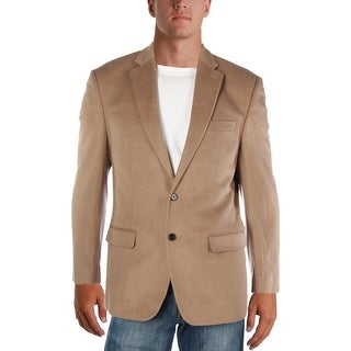 Lauren Ralph Lauren Mens Two-Button Blazer Wool Blend Sportcoat - 40r