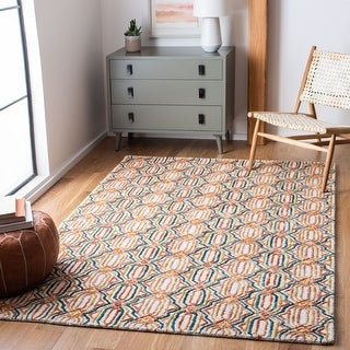 Safavieh Handmade Trace Snezana Contemporary Wool Rug