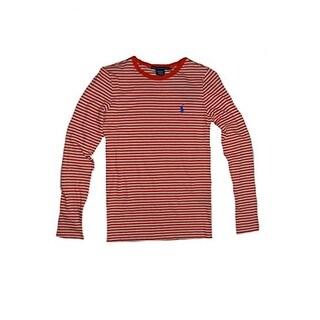 Ralph Lauren Sport Women's Long Sleeve Stripe Cotton Shirt