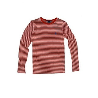 Ralph Lauren Sport Women's Long Sleeve Stripe Cotton Shirt