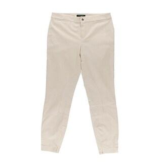 Lauren Ralph Lauren Womens Casual Pants Corduroy Panel