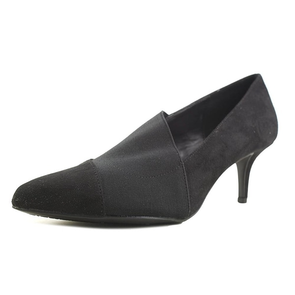 Impo Naida Women Pointed Toe Synthetic Black Heels