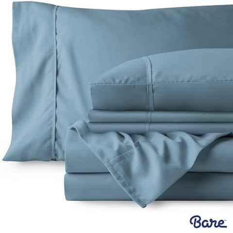 Bare Home Microfiber Deep Pocket Sheet Set - 2 Extra Pillowcases