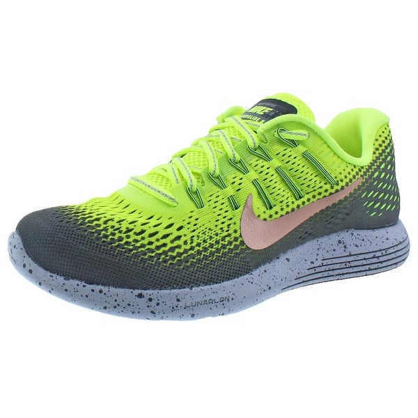 Metropolitano Mamá Con  Nike Mens Lunarglide 8 Shield Running Shoes H20 Repel Dynamic Support - 6  medium (d) - Overstock - 22311391