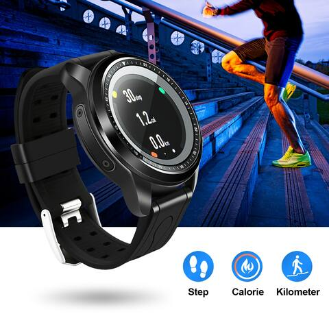 Bluetooth Smart Watch Wrist Watch Phone For Samsung HTC & Other Android Smartphones For Android IOS - SIZE