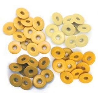 Yellow - Eyelets Wide 40/Pkg