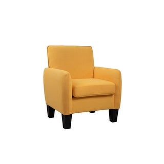 Link to Mia Linen Accent Armchair Similar Items in Living Room Chairs