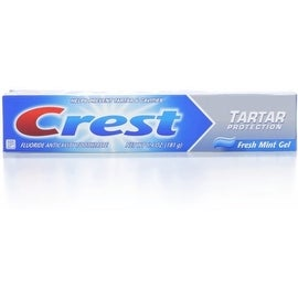 Crest Tartar Protection Toothpaste, Fresh Mint Gel 6.4 oz