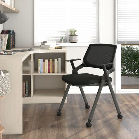Furniture of America Dhruv Foldable and Mobile Office Chair