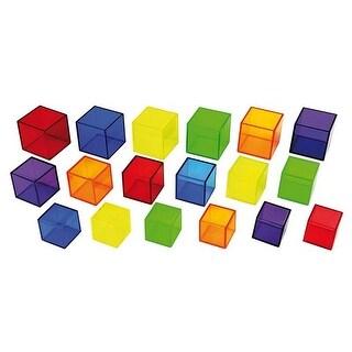 Learning Advantage CTU9245 Translucent Cubes - Set of 54