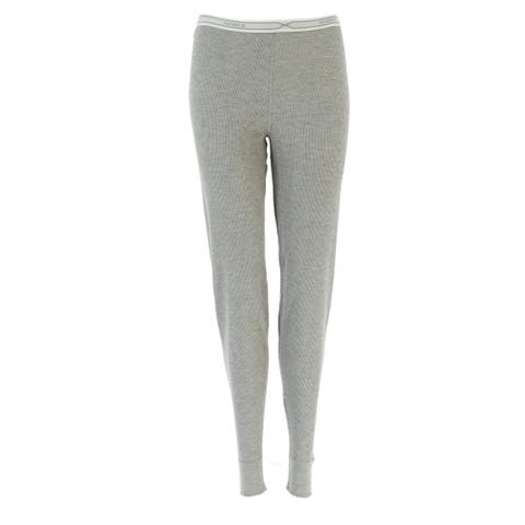 Hanes Women's Waffle Weave Thermal Bottoms