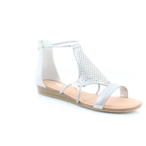 Carlos by Carlos Santana Tinley Women's Sandals Pewter - 8.5